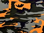 Jersey Camouflage, orange khaki