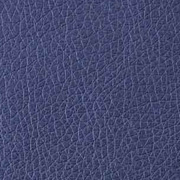 Lederimitat geprägte Optik, dunkelblau metallic
