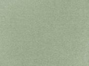 glattes Bündchen -  schilfgrün meliert