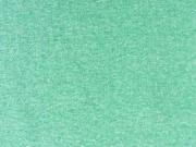 glattes Bündchen - leuchtend grün meliert