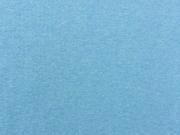 glattes Bündchen -  helles jeansblau meliert