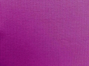Bündchen Feinripp dunkle pflaume