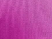 Bündchen Feinripp pflaume