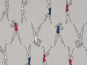 Milliblus Easy Chic Voile Ballerinas, beige