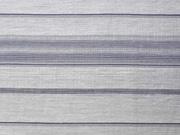 Viskose mit transparenten Streifen, weiß