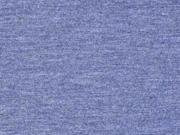 Jersey schwarz melange jeansblau
