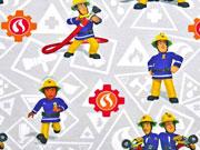 Jersey Digital Feuerwehrman Sam, hellgrau