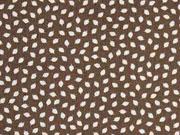 Baumwolle Mini Blätter, braun