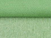 melierter Softshell Stoff, hellgrün