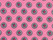 BW Little Darling Rädchen, grau auf rosa
