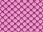 RESTSTÜCK 84 cm BW Little Darling Kreuzblume, rosa beere
