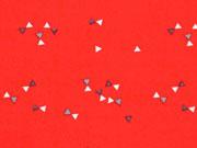 BW Little Darling kleine Dreiecke, orangerot