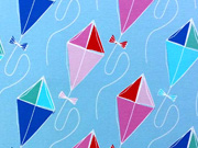 Jersey Drachenflug groß Blaubeerstern, eisblau