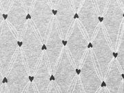 Lillestoff Bio-Jersey Catched Hearts
