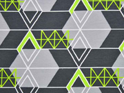 Sweat graphisches Muster, dunkelgrau
