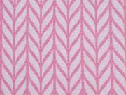 Hamburger Liebe Maxi Knit, weiß rosa melange