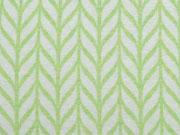 Hamburger Liebe Maxi Knit, weiß lindgrün