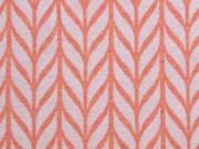 Hamburger Liebe Maxi Knit, weiß apricot