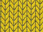 HH Liebe Big Knit Knit Jacquard,  senf/carbon