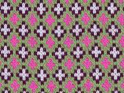 HH Liebe Criss Cross grün pink