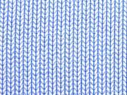 Hamburger Liebe Knit Knit, himmelblau weiß