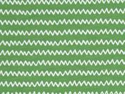 C.Pauli Bio-Jersey kleiner Zickzack, grün