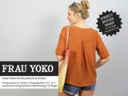 Schnittmuster Tunika m. Kellerfalte Frau YOKO Studio Schnittreif
