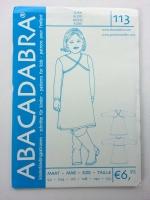 113 Jerseykleid Schnittmuster Abacadabra
