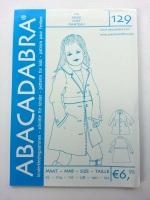 129 Mantel Schnittmuster Abacadabra