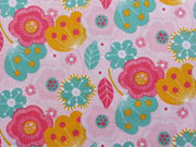 Talullah BW Blumen, rosa/mint