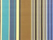 beschichtete BW Leona Streifen - blau/taupe