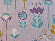 Camelot Josephine Mod Floral, altflieder