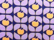 Sweat Sweet Apple Blumen, dunkelblau