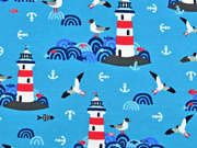 Jersey  Lighthouse Island by Lila-Lotta, türkis
