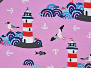 Jersey Lighthouse Island by Lila-Lotta, rosa