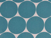 laminierte BW Fresh Dots 5 cm, mint/weiss