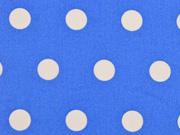 beschichtete BW Leona Punkte 1,6cm  himmelblau