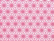 beschichtete BW (Luna) Mini Geo Star, rosa