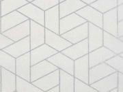 Camelot Mixology Luxe Tiled creme silber metallic