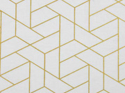Camelot Mixology Luxe Tiled creme gold Metallic
