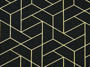 Camelot Mixology Luxe Tiled schwarz gold Metallic