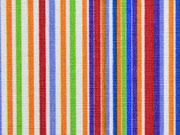 beschichtete Baumwolle bunte Streifen Pepples