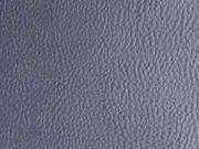 RESTSTÜCK 33 cm Rex Kunstleder geprägte Optik, dunkelgrau metallic