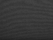 Canvas Stoff Carl schmutz- und wasserabweisend, schwarz