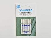 5 Schmetz Microtex Nadeln Stärke 60