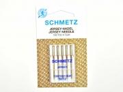 5 Schmetz Jersey Nadeln, Nadelstärke 80