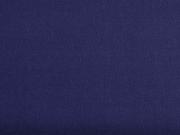 Canvas Stoff uni, Marine Blau