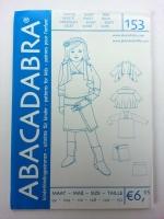 153 Cardigan-Shirt-Rock Schnittmuster Abacadabra