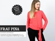 Schnittmuster Knotenbluse Frau Pina Studio Schnittreif