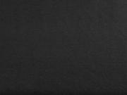 Leinenlook T-Shirtstoff uni, schwarz